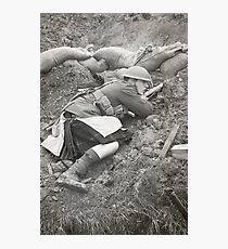 Poor Bloody Infantry Photographic Print