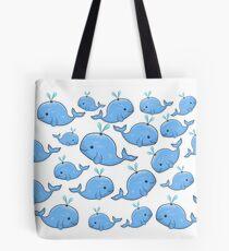 Bolsa de tela Blue Whales
