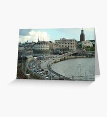 Stockholm Vista Greeting Card