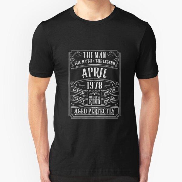 Vintage Original Parts 1978 Mens 41st Birthday Funny T-Shirt 41 Year Old Present