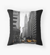 New York Chrysler Building Throw Pillow