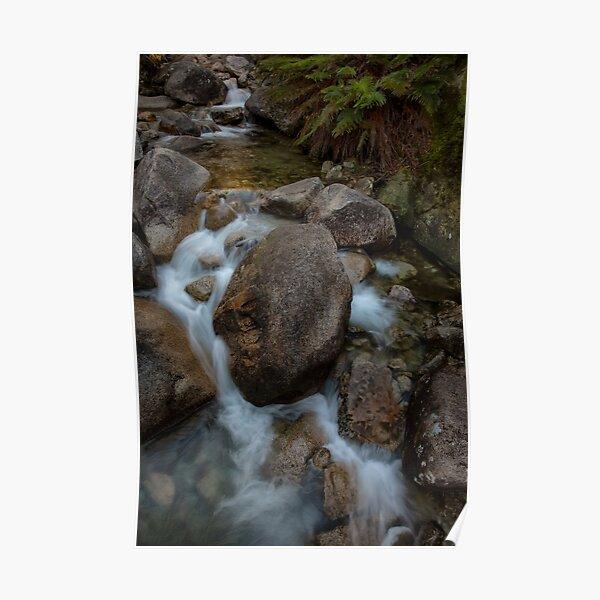 Ladies Bath Falls, Mount Buffalo National Park Poster