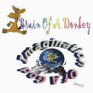 Brain Of A Donkey-Imagination Of A God by Michelle Scott