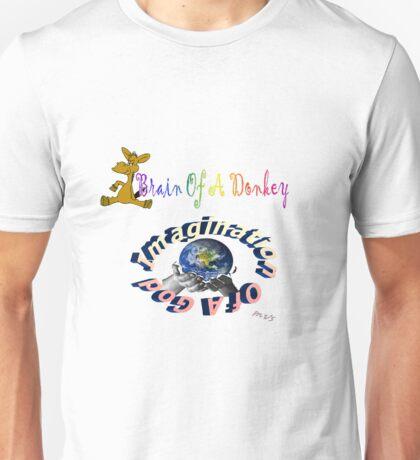 Brain Of A Donkey-Imagination Of A God T-Shirt