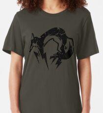 Foxhound V2 (Black) Slim Fit T-Shirt