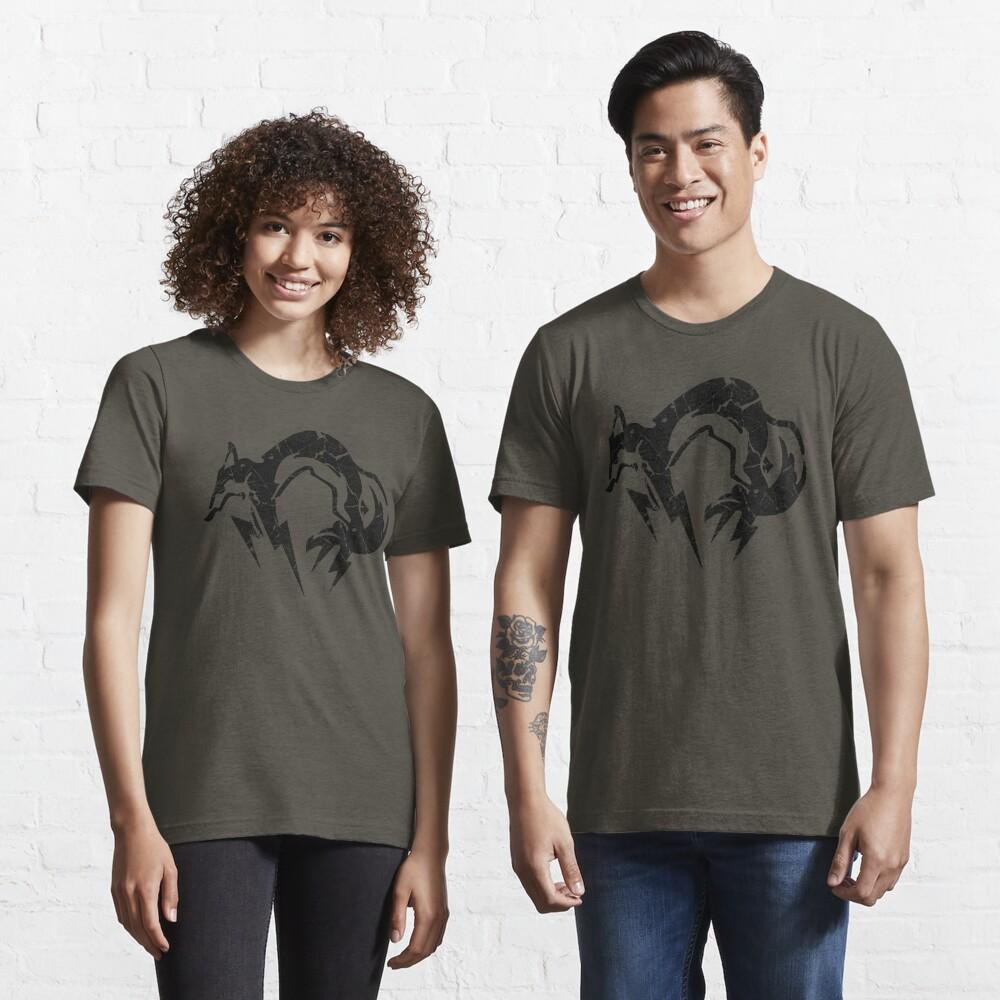 Foxhound V2 (Black) Essential T-Shirt