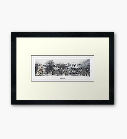 Charlotte Square - Edinburgh Framed Print
