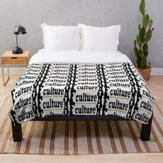 AF MOEARTH CULTURE Throw Blanket