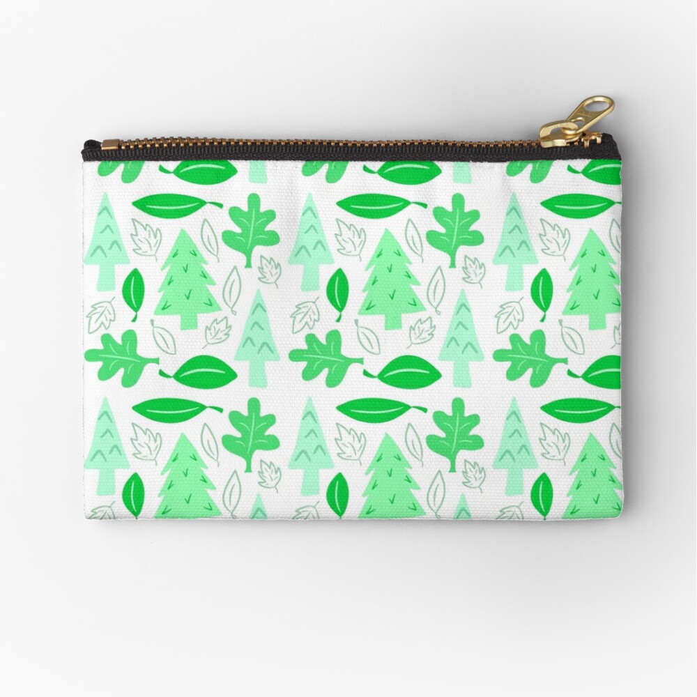 Off To The Park Zipper Pouch