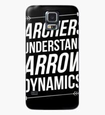 Archers understand arrow dynamics Case/Skin for Samsung Galaxy