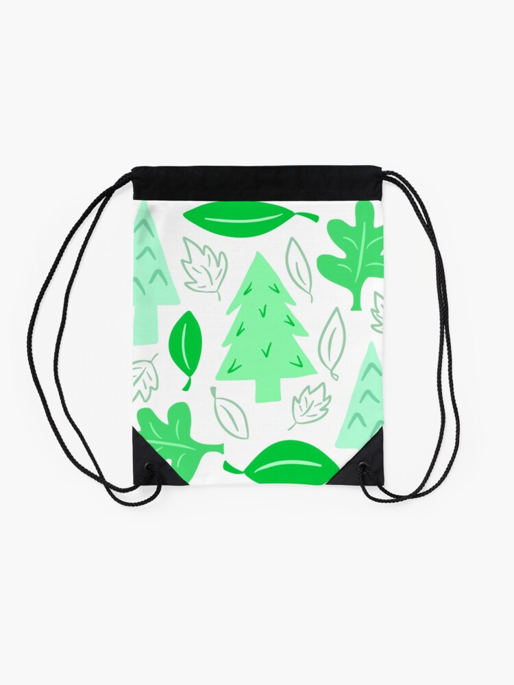 Alternate view of Off To The Park Drawstring Bag