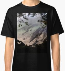 Ocean through the trees  Classic T-Shirt
