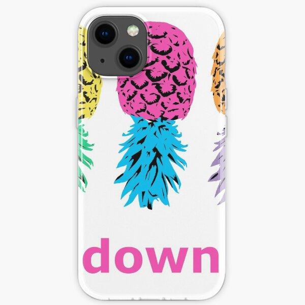 Swinger Pineapples iPhone Soft Case