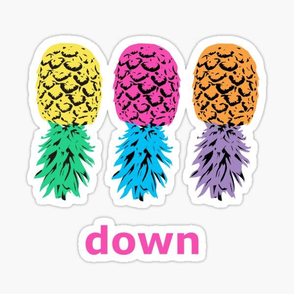 Swinger Pineapples Sticker