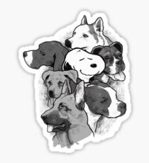 Doggies! Sticker
