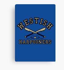 Westish Harpooners Canvas Print