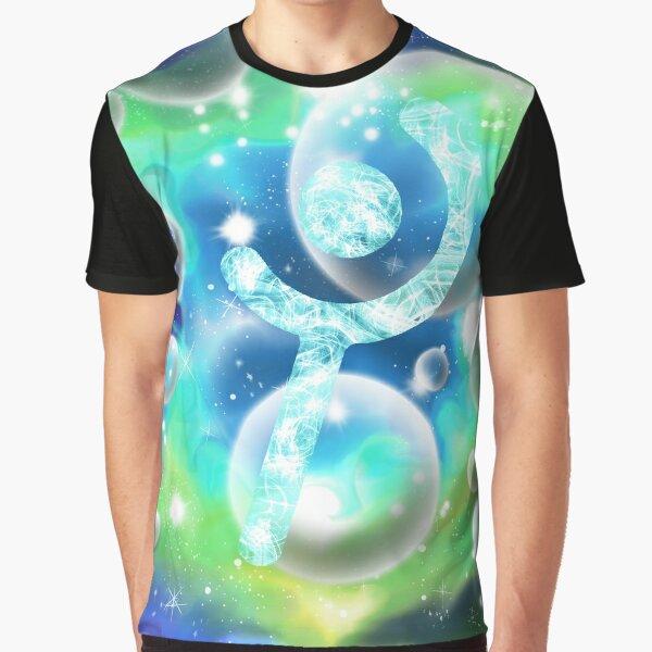 White Mage Galaxy Graphic T-Shirt