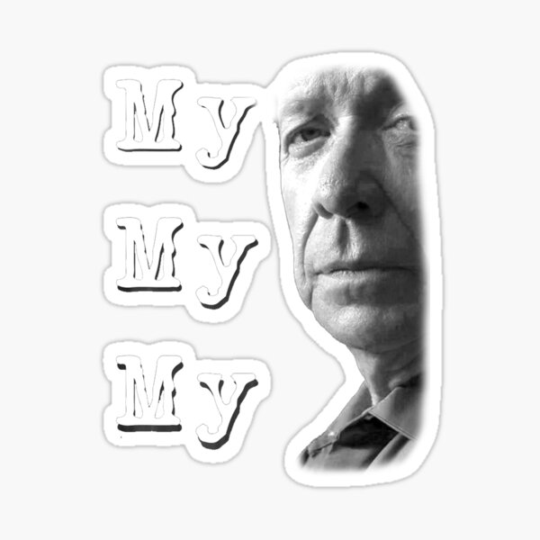 My My My Joe Kenda Sticker
