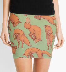 Minifalda Patrón de zorro