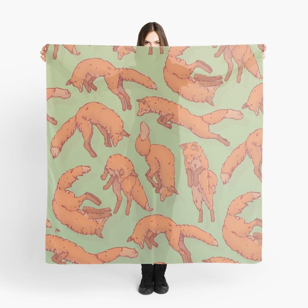 Fox Pattern Scarf