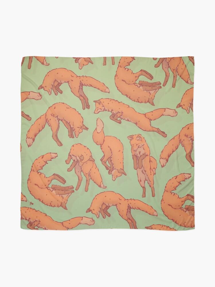 Alternate view of Fox Pattern Scarf