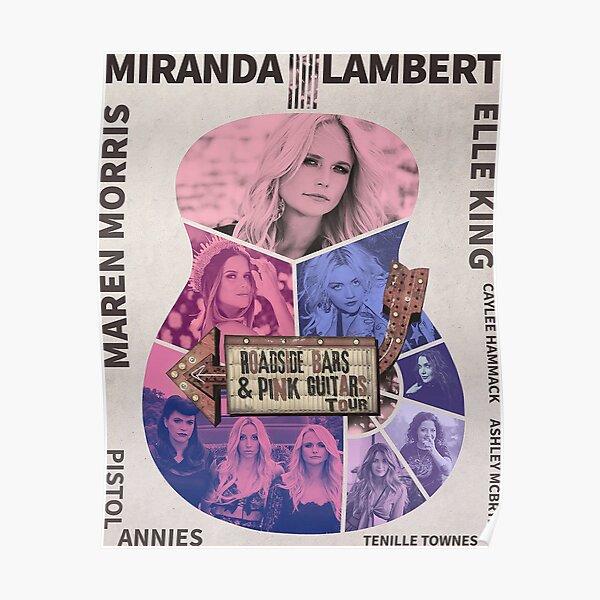 New Miranda Guitar Tour 2019 Poster