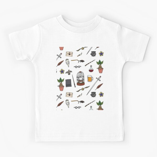 Owl and wand Kids T-Shirt