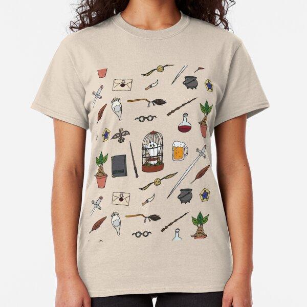 Chouette et baguette T-shirt classique