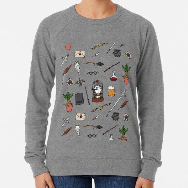 Chouette et baguette Sweatshirt léger