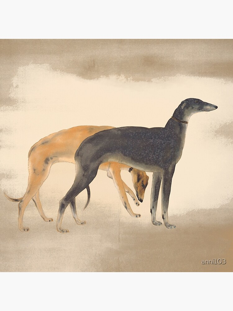 Two Greyhounds by anni103