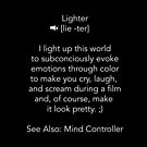 Define Lighter - White Text1 by jctools