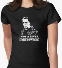 More Cowbell Tshirt 2 Women's Fitted T-Shirt