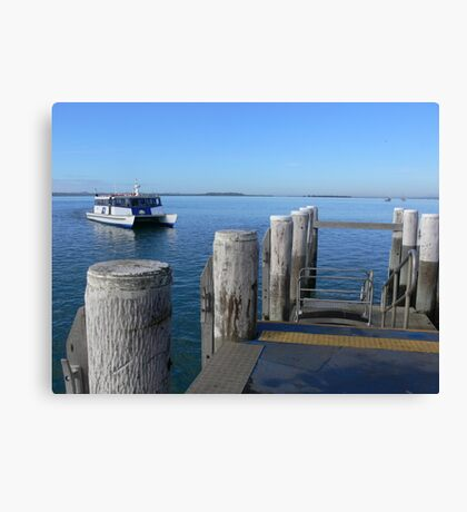 Ferry to Coochie Canvas Print