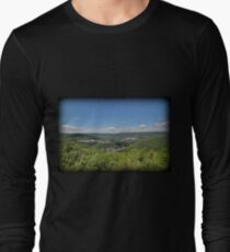 Jim Thorpe From Above Long Sleeve T-Shirt