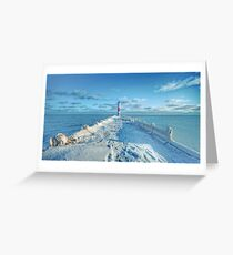 Charlotte Pier - Rochester NY Greeting Card