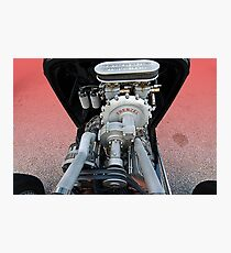 Frenzel Supercharger Photographic Print