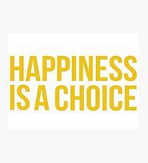Yellow Happiness Photographic Print
