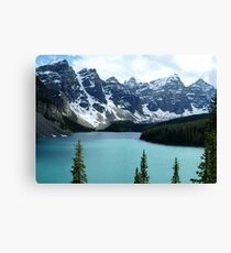 Moraine Lake Alberta Canvas Print