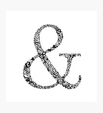 Ampersand Prints, Cards and Posters Photographic Print
