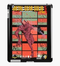 Fake Metal Gear Solid V Graphic Novel cover iPad Case/Skin