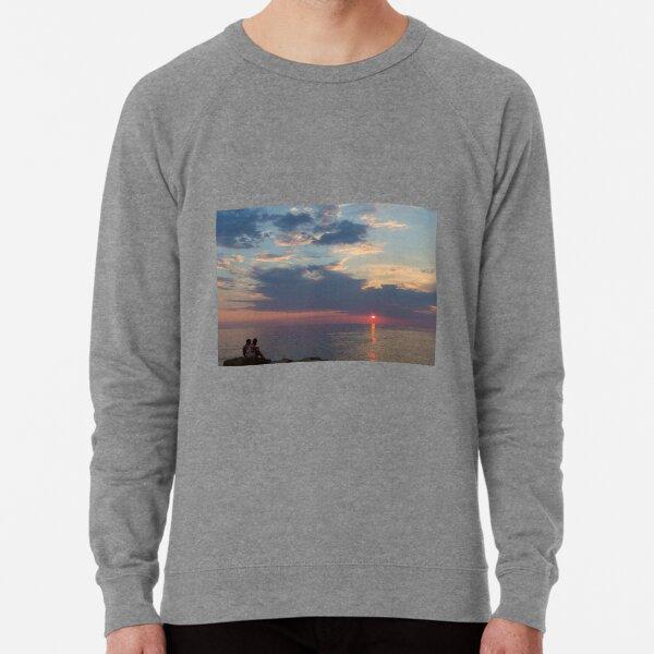 Watching the sunset Lightweight Sweatshirt
