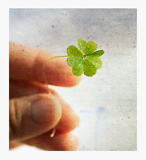 My lucky day Photographic Print