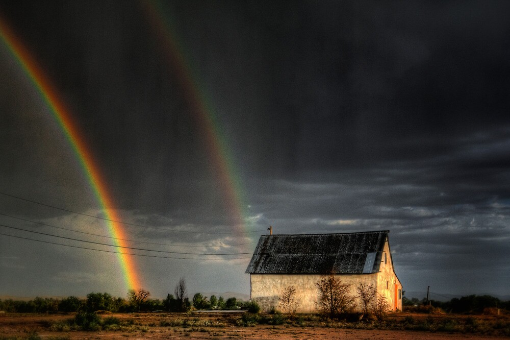 Rainbow Shed by Bob Larson