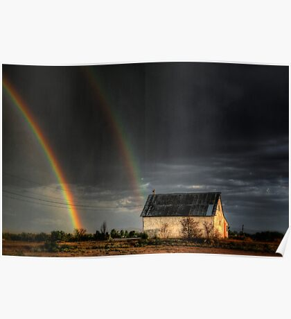Rainbow Shed Poster