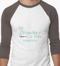 Debauchery Tea Party Men's Baseball ¾ T-Shirt
