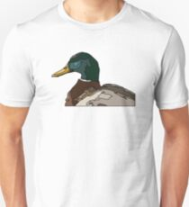 Abstract Graphic Duck Unisex T-Shirt