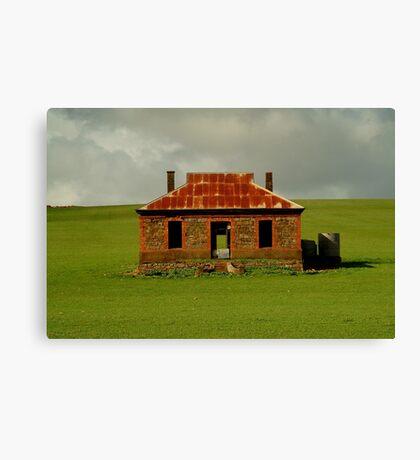 Passing Storm, Burra Ruins Canvas Print