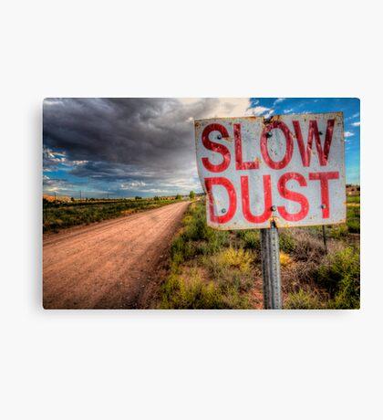 Slow Dust Canvas Print