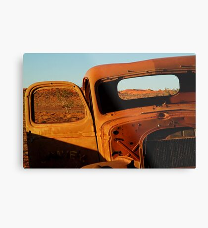 Historic Relic, Old Andado Station Metal Print