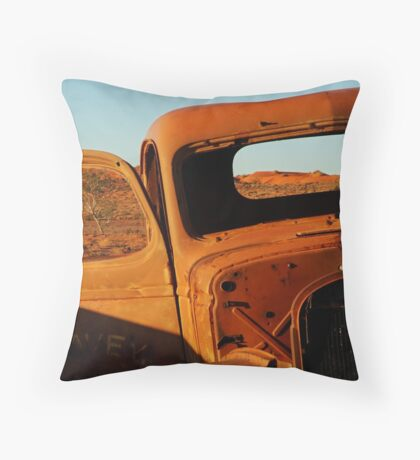 Historic Relic, Old Andado Station Throw Pillow